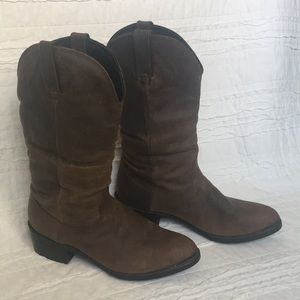 Genuine leather Durango Slouch cowgirl boots
